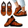 Camping Fire Scouting Icon Sneakers