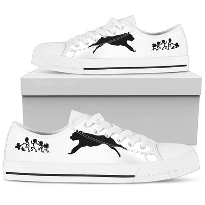 My Rottweiler Ate Your Stick Family Low Top Shoes