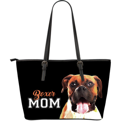 Boxer Mom Leather Bag