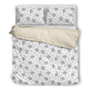 Elephant Blue White Beautiful Charming Attractive Cute Bedding Set