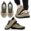 Indian Ethnic Pattern Dachshund Sneakers