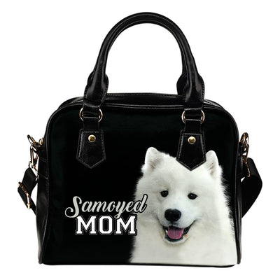 Samoyed Mom Shoulder Handbag