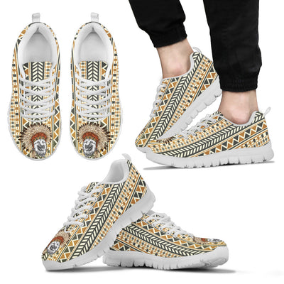 Indian Ethnic Pattern German Shepherd Sneakers