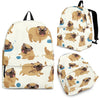 Pose Pattern Pug Backpack