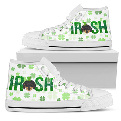 Irish Dachshund High Top Shoes