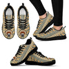 Indian Ethnic Pattern Pug Sneakers