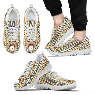 Indian Ethnic Pattern Samoyed Sneakers
