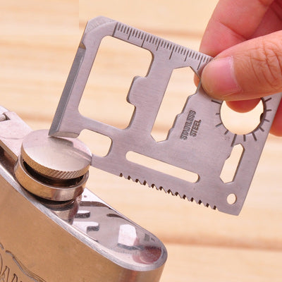 11 in 1 Multi Tools Credit Card Knife - HimalayasGears.com