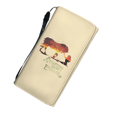 Horse And She Lived Happily Ever After Women's Wallet