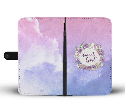 Sweet Girl Wallet Phone Case