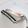 1Pcs Color Stainless Steel I Love You Most Couple Bracelet Handled