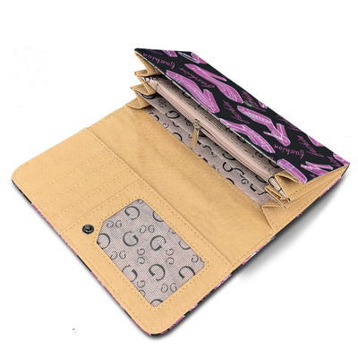 Husky Wearing Sunglasses High Fashion Women's Wallet