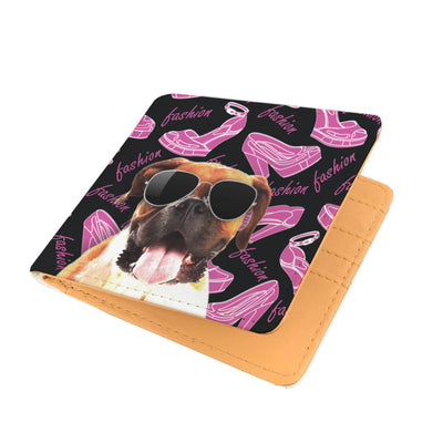 Boxer Wearing Sunglasses High Fashion Men's Wallet
