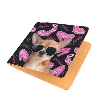 Chihuahua Wearing Sunglasses High Fashion Men's Wallet