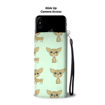 Live Love Laugh Chihuahua Wallet Phone Case