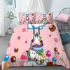 Rainbow Unicorn Sweet Dream Full Print Bedding Set And Blanket