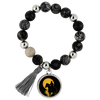 Riding Under Sunset Horse Lyric Bracelet
