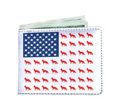 Nice Pattern German Shepherd Men's Wallet