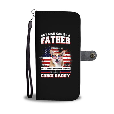 Special To Be A Corgi Daddy Wallet Phone Case