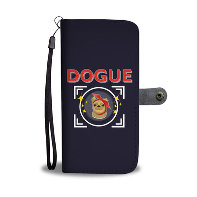 Pug Dogue Wallet Phone Case