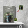 When I Say I Love You More - I Mean I Love You The Most Couple Canvas Print