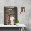 I Say I Love You More Mean I Love You The Most Happy Couple Canvas Print