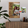 Today Is A Good Day - Smile More And Worry Less Mother And Daughter Canvas Print