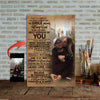 To Be The Very Best Version Of You Love City Couple Canvas Print