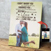 Sweet Kiss On The Green Field A Happy Couple Custom Canvas Print
