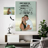 Sweet Forever Love Smile At The Sea Destiny Couple Custom Canvas Print