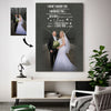 Love looks not with the eyes Custom Canvas Print