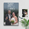 Fate and Destiny Made Us A Couple - Flower Custom Canvas Print