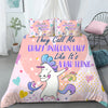 Crazy Unicorn Lady Funny Unicorn Dancing Bedding Set - Blanket
