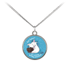 Eat Cakes Unicorn Standard Coin Necklace