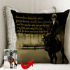 A Little Girl Fell In Love With The Horse Girl With A Horse Custom Pillow Cover