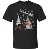 Dog Xmas - Special Christmas with Rottweiler T-shirt