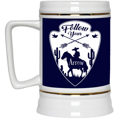 Nice Horse Mug - Follow Your Arrow, is a cool gift for friends
