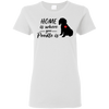Nice Poodle T Shirt - Home Is Where Your Poodle Is, is a cool gift
