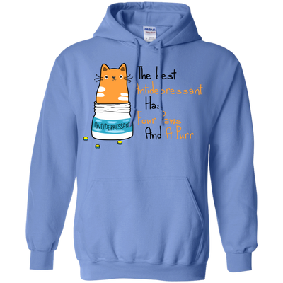 Nice Cat T Shirt The Best Antidepressant Has Four Paws And A Purr W