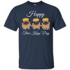 Nice Pug T Shirt - Three Kings' Day Pug, is a cool gift for friends