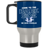 Nice Poodle Black Mug - Come To The Bark Side We Have Poodles