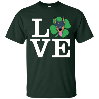 Nice Doberman T Shirt - Love Doberman, is a cool gift for friends