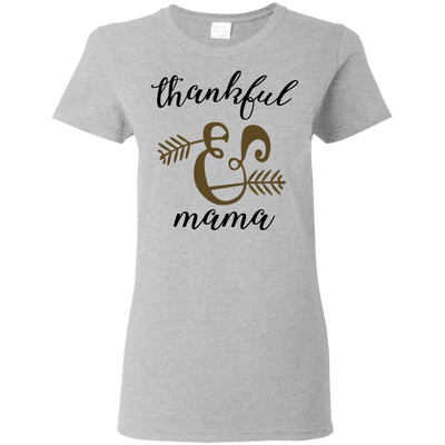 Thankful Mama Cute Lovely Mom T Shirt With Moving Graphics