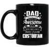 Dad Thanks For Sharing Your DNA Custodian Mug