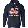Donut Forget Pug T Shirt