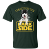 Amazing Husky Tshirts Welcome To The Bark Side T Shirt