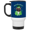 Nice Pug Mug - Irish Pug Ver 1, is a cool gift for your friends