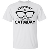 Everyday Is Caturday Cool Funny Cat T Shirt - Cat Person Tee