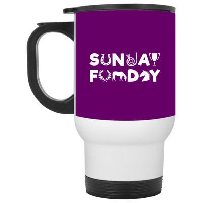 Nice Riding Mug - Sunday Funday Horse Riding, is a cool gift