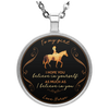 Horse - To My Girl Necklace